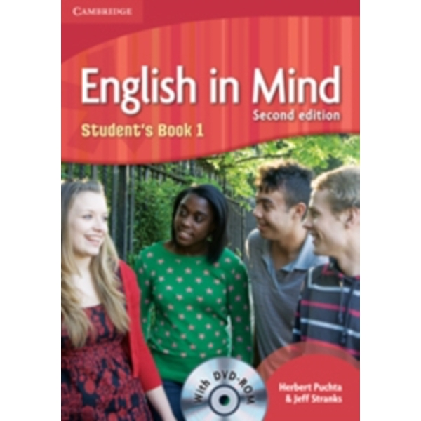 English in Mind Level 1 Student's Book with DVD-ROM by Jeff Stranks, Herbert Puchta (Mixed media product, 2010)