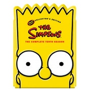 The Simpsons - Season 10 (Ltd Edition 'Bart' head) DVD