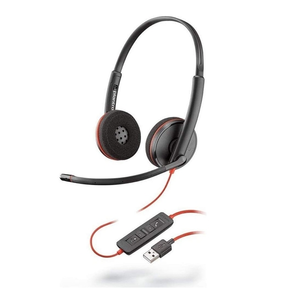 Image of Plantronics Blackwire 3220 - Headset Black
