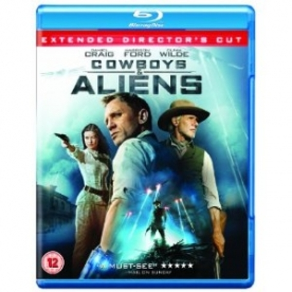 Cowboys & Aliens Blu-Ray