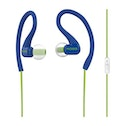 """Koss Stereo InEar Headset """"FitClips KSC32iB"""" with Microphone, blue"""