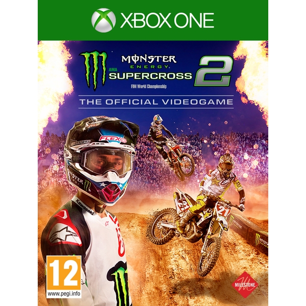 Monster Energy Supercross 2 Xbox One Game - Image 1