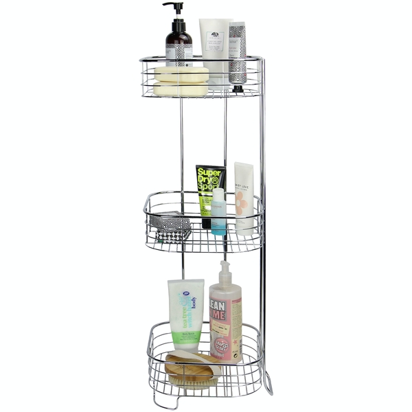 Freestanding 3 Tier Shower Caddy | M&W