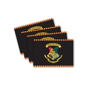 Harry Potter Hogwarts Crest Placemats - Set of 4