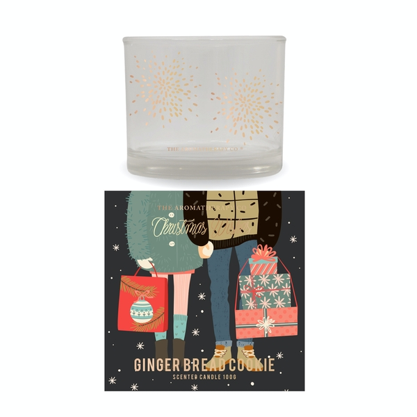 Noel Story 100g Gingerbread Cookie Candle