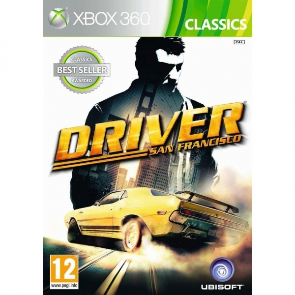 Driver San Francisco (Classics) Game Xbox 360