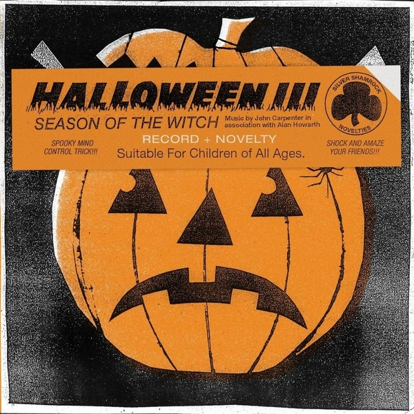 John Carpenter & Alan Howarth - Halloween III - Sean Of The Witch Vinyl