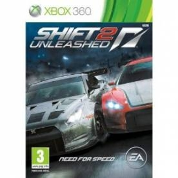 (USED) Need For Speed NFS Shift 2 Unleashed Game Xbox 360