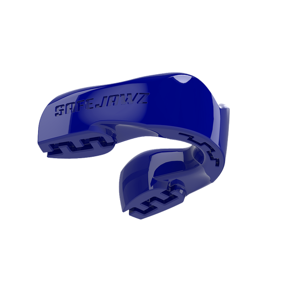 SafeJawz Intro Series Mouthguard Adult - Blue