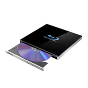 LiteOn EB1 Black Ultra Slim External USB 3.0 UHD 4K Blu-Ray/DVD Writer