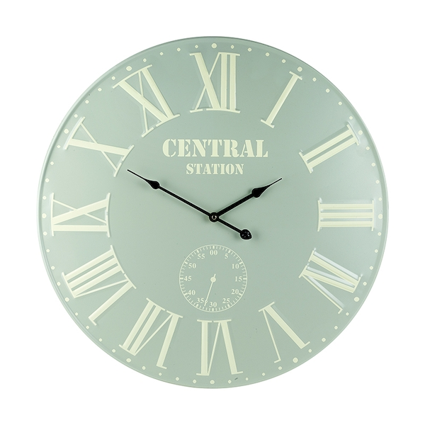 Large Central Station Wall Clock By Heaven Sends