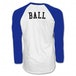 The Vamps Ball White Raglan Baseball Shirt X Large - Image 2