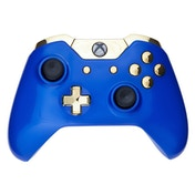Royal Blue & Gold Xbox One Controller