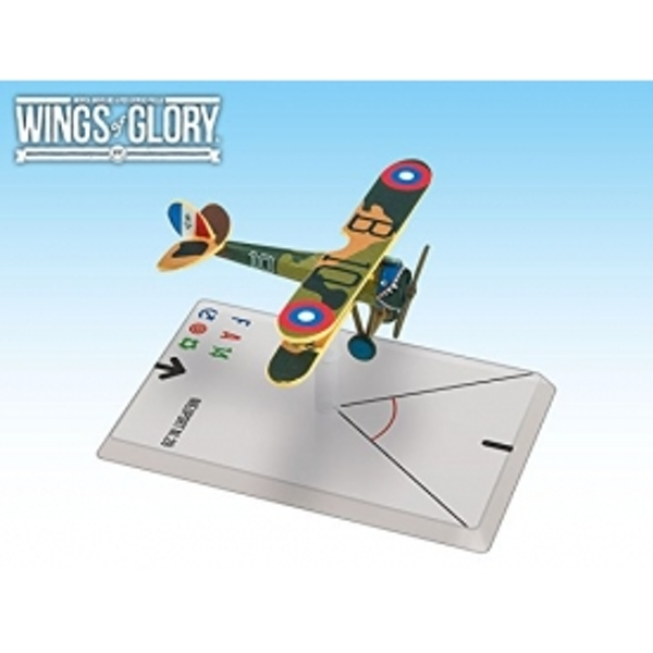 Wings Of Glory Airplane Pack - Nieuport NI.28 (O'Neill) Board Game