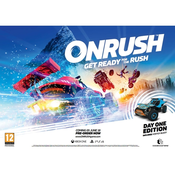 Onrush Day One Edition PS4 Game (Tombstone DLC) - Image 6