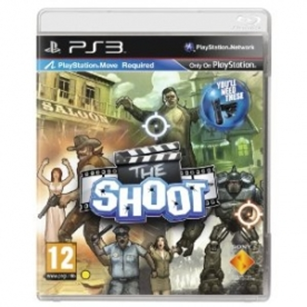 Playstation Move The Shoot Game PS3