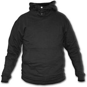 Metall Streetwear Kangaroo Poppers Men's X-Large Hoodie - Black