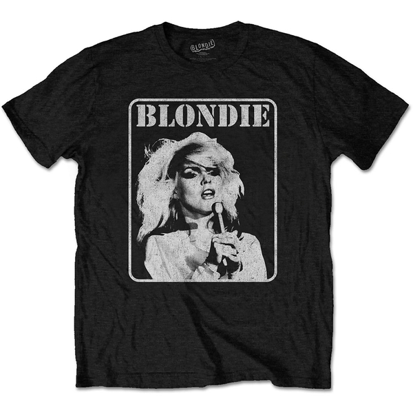 Blondie - Presente Poster Men's Large T-Shirt - Black
