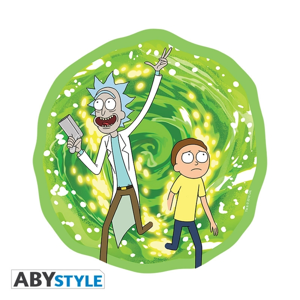 Image of Rick And Morty - Portal Mouse Mat