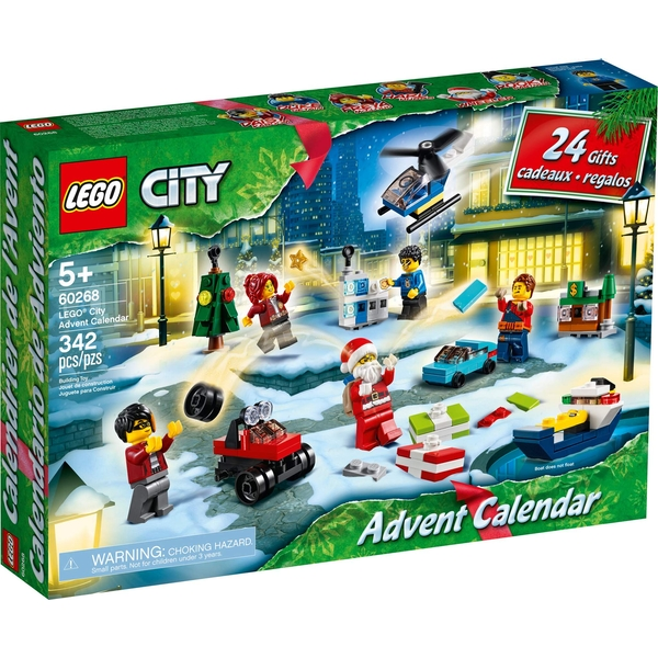 Lego City Advent Calendar 2020 (60268) - Image 1