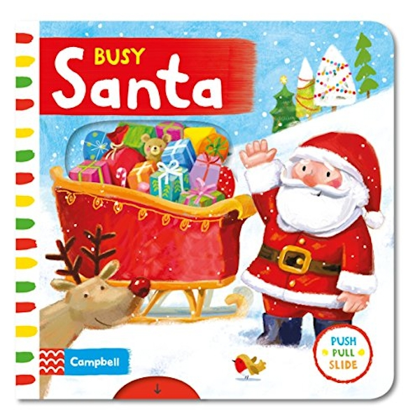 Busy Santa by Ag Jatkowska (Board book, 2015)