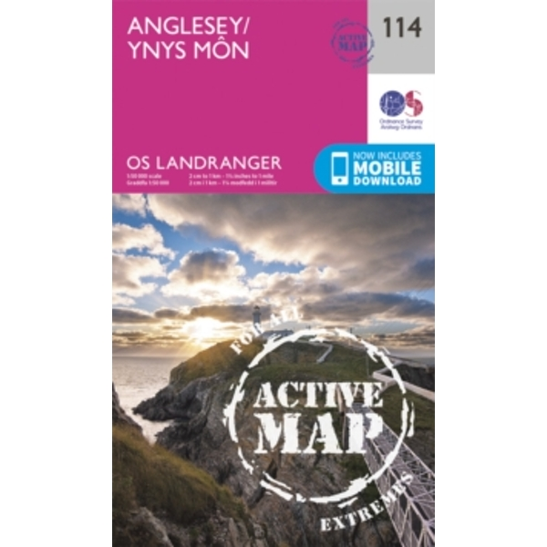 Anglesey by Ordnance Survey (Sheet map, folded, 2016)