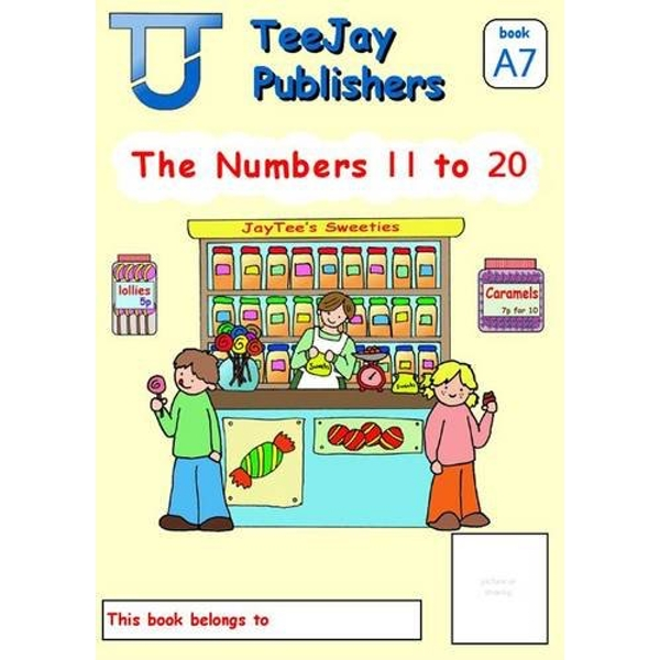 TeeJay Level A Maths: Bk.7: Numbers 11 to 12 by James Geddes, Tom Strang (Paperback, 2008)