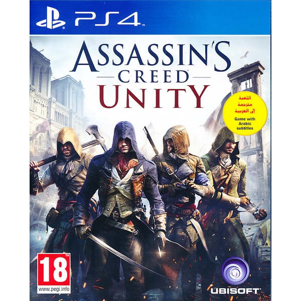 Assassins Creed Unity PS4 Game