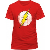 The Flash - Logo Men's XXXX-Large T-Shirt - Red