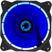 Game Max Eclipse Blue Ring LED 12cm Cooling Fan With Hydraulic Bearings