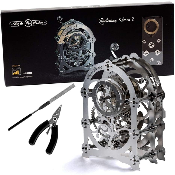 Time 4 Machine Mysterious Timer 2 Wind-up Mechanical 3D Model Kit