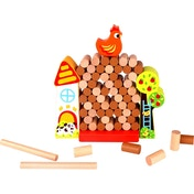 Chick Drop Wooden Activity Toy