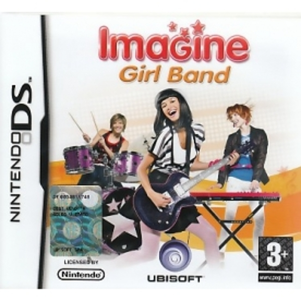 Imagine Girlband Game DS