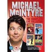 Michael Mcintyre: The Complete Live Collection DVD