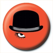 A Clockwork Orange - Bowler Badge