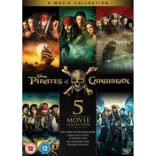 Pirates of the Caribbean 1-5 Boxset DVD