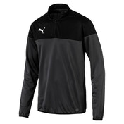 Puma ftblPLAY 1/4 Zip Top  Asphalt-Black Small