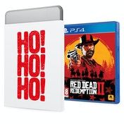 Red Dead Redemption 2 PS4 Game + Christmas Gift Tin