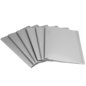 Set of 6 A4 Display Folder | Pukkr Grey New