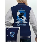 Harry Potter - House Ravenclaw Women's Medium Varsity Jacket - Blue
