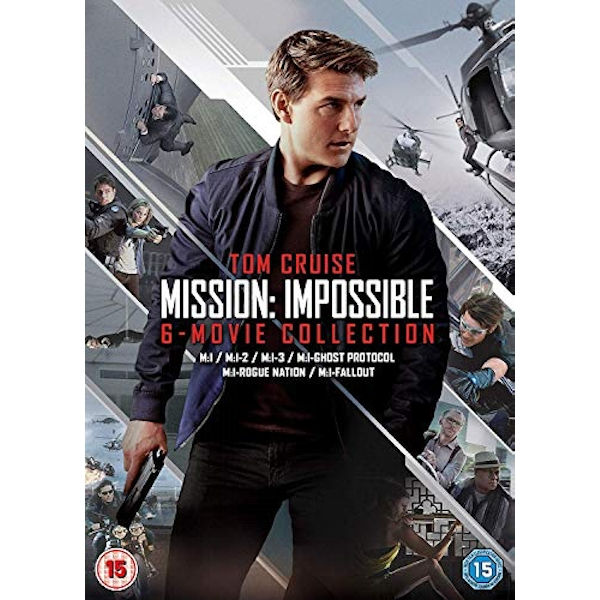 Mission Impossible 1-6 Movie Collection DVD
