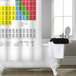 Periodic Table Shower Curtain | M&W - Image 2
