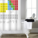 Periodic Table Shower Curtain | Pukkr - Image 3