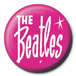 The Beatles - Pink Badge - Image 2