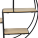 Floating Circle Shelf | M&W 4 Tier - Image 2