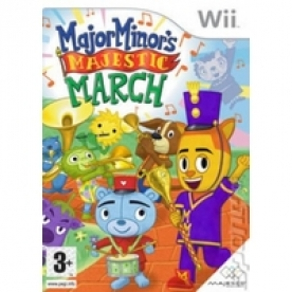 Major Minors Majestic March Game Wii