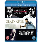 State of Play / Gladiator / American Gangster Blu-ray