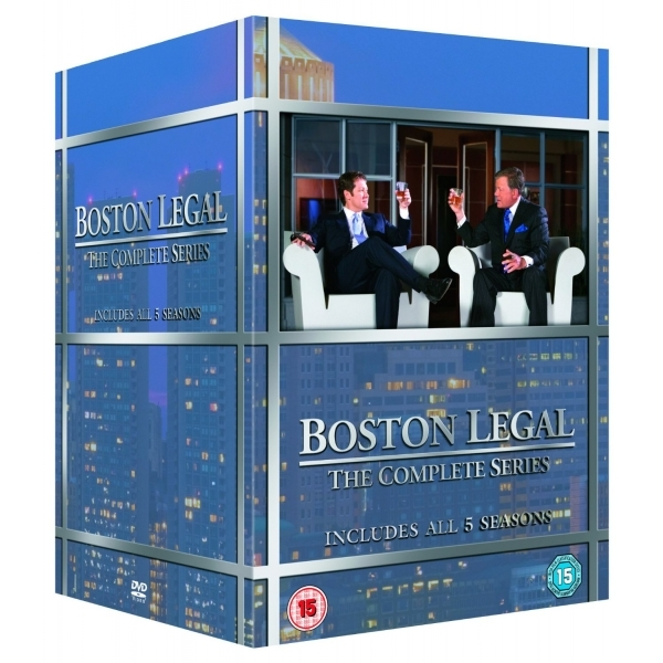 Boston Legal - Seasons 1-5 Boxset DVD