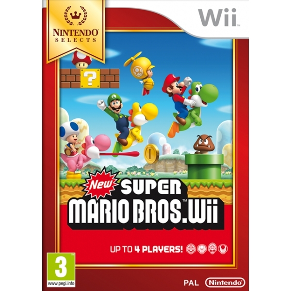 New Super Mario Bros Wii Game (Selects) - Image 1