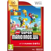 New Super Mario Bros Wii Game (Selects)